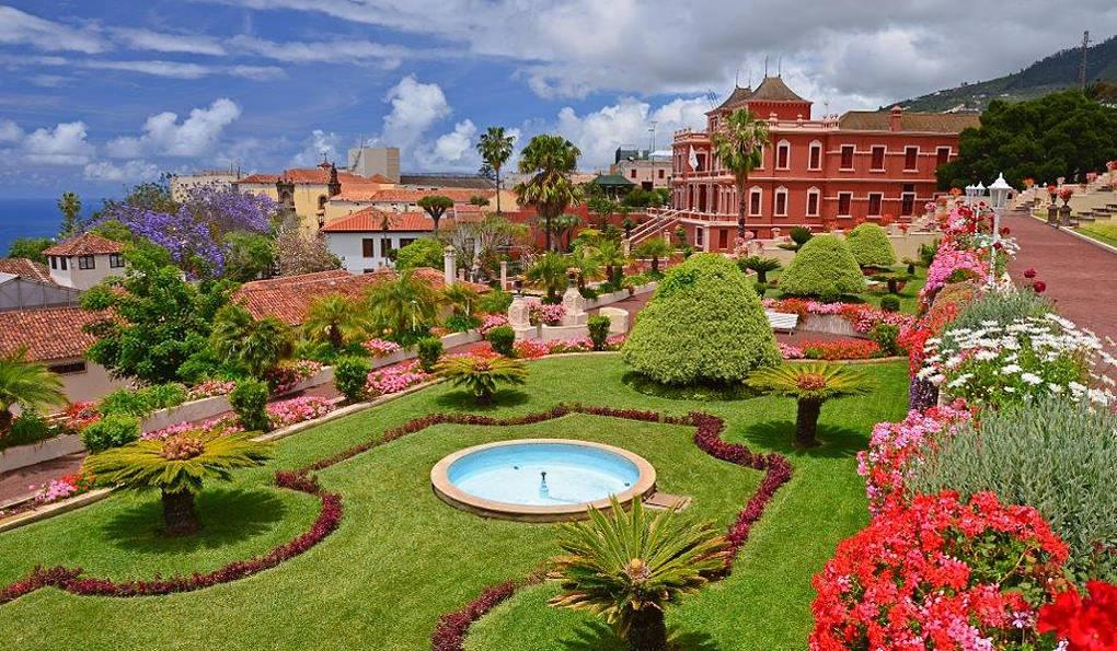 ботанический сад на тенерифе фото