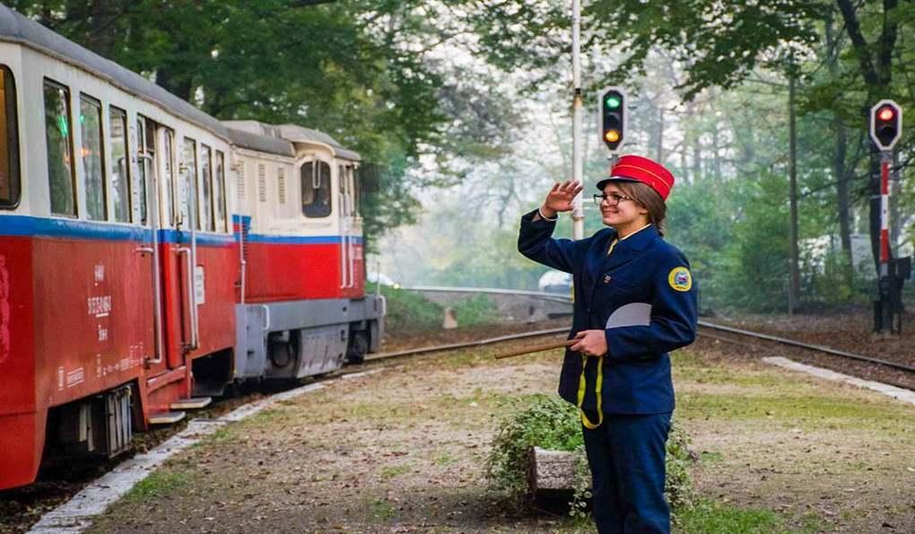 Детская Железная Дорога Будапешта