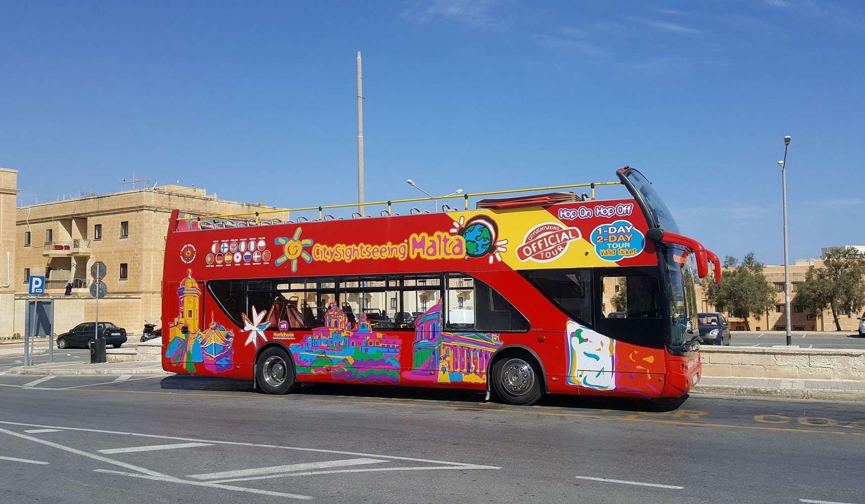 Экскурсионные Автобусы на Мальте