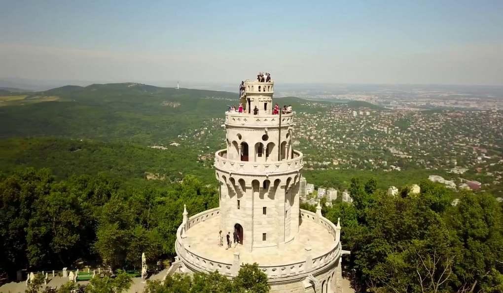Гора Янош и Башня Эржебет