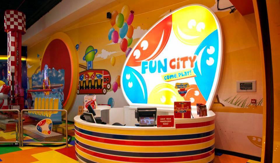Игровой Центр Fun City в Фуджейре
