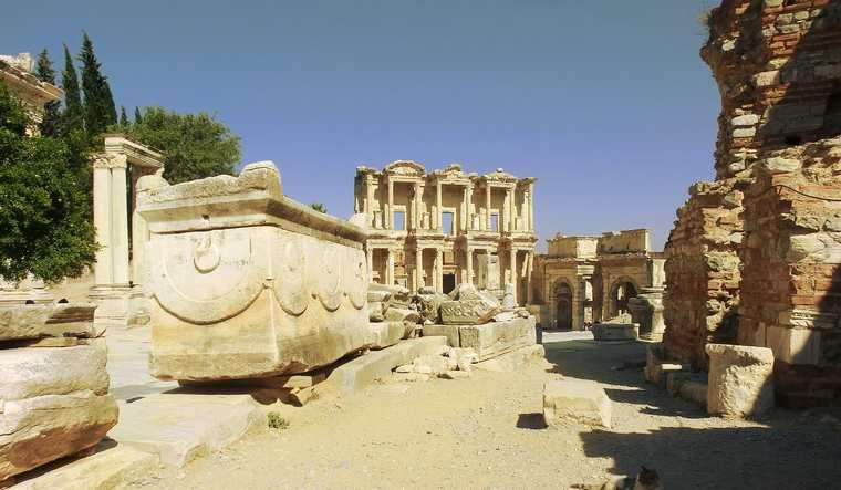 Эфес Турция Достопримечательности древнего города карте фото с описанием экскурсии музеи