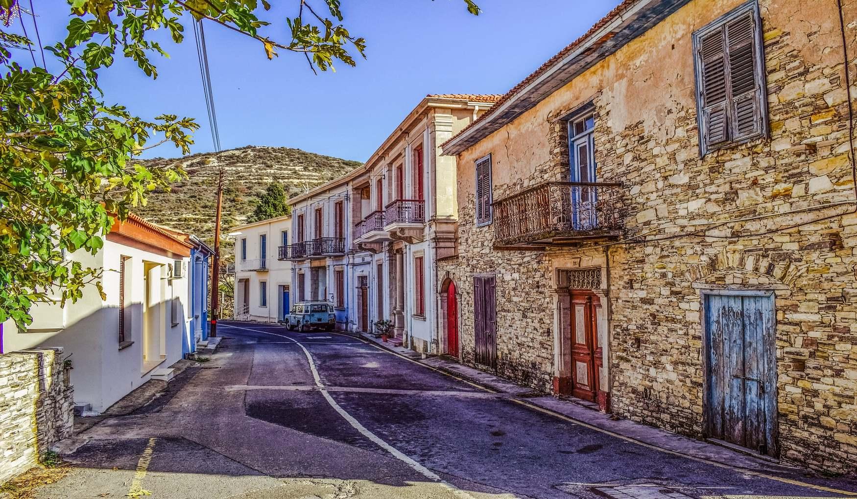 Кипрская Традиционная Деревня Като Дрис