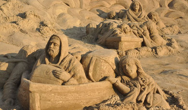 Комплекс Песчаных Скульптур Sandland