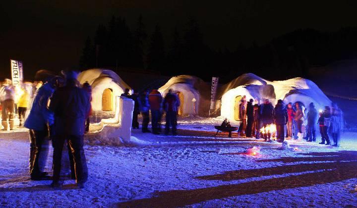Ледяная Деревня Alpeniglu
