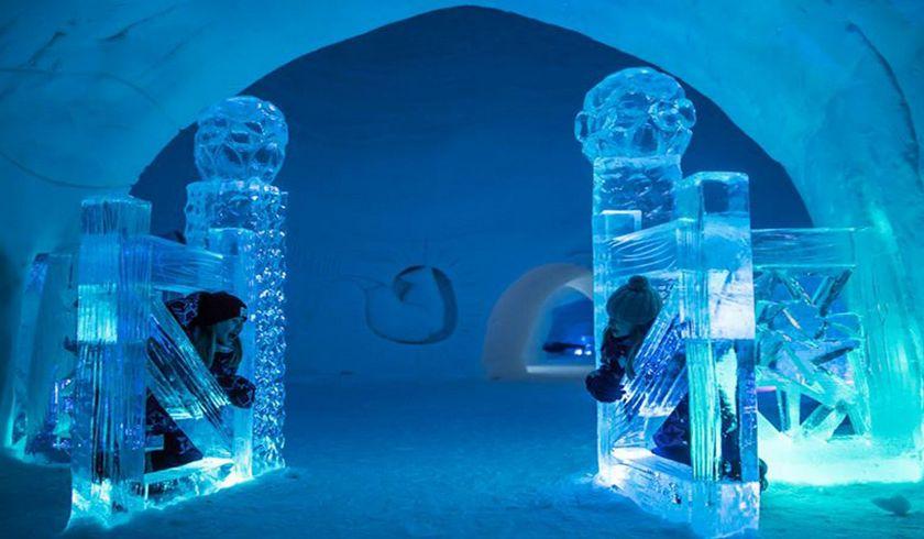 Ледяная Галерея Luvattumaa