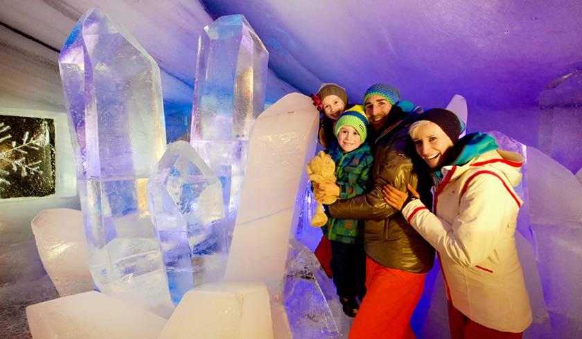 Ледяной Дворец Dachstein Ice Palace