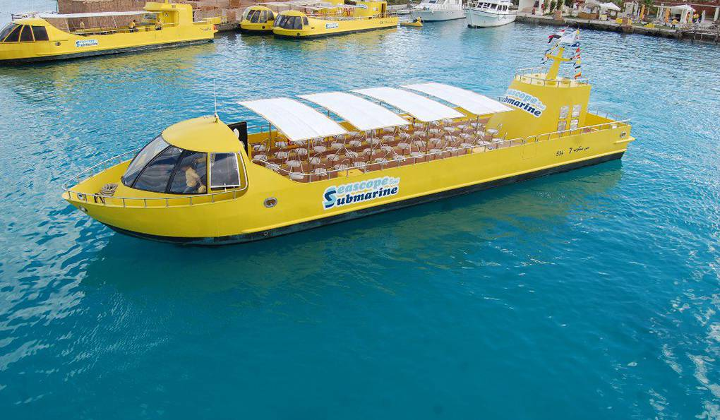 Лодка с Прозрачным Дном Sea Scope