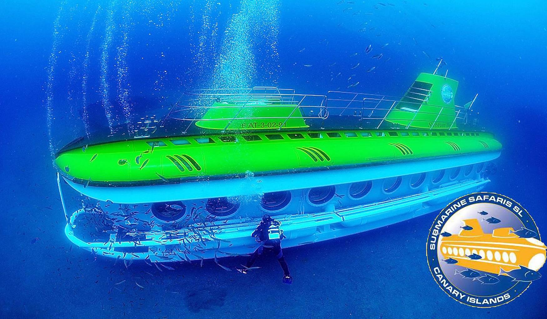 Морские Экскурсии на Подводной Лодке Submarine Safari