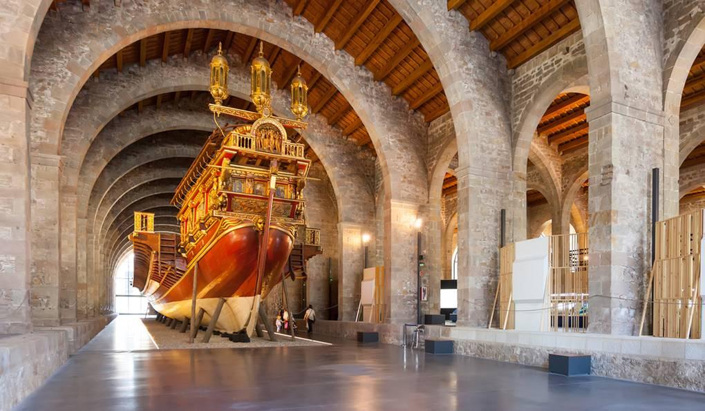 Морской Музей Барселоны