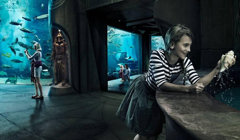 Музей Подводного Мира The Lost Chambers