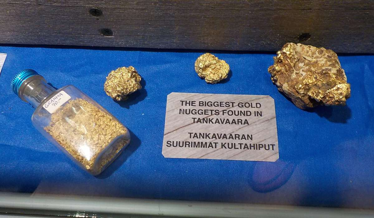 Музей Золота Танкаваара в Лапландии