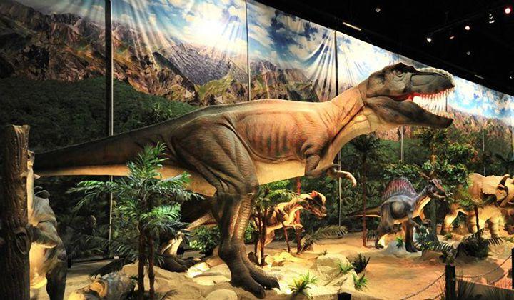 Парк Динозавров Jurassic Land (ЗАКРЫТ)