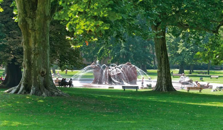 Парк Günthersburgpark