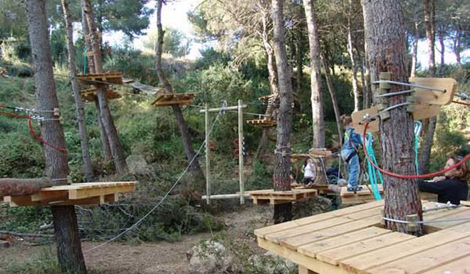 Парк развлечений Jungle Trek в Таррагоне