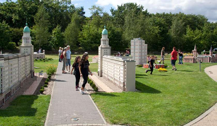 Парк Миниатюр Modellpark Berlin-Brandenburg