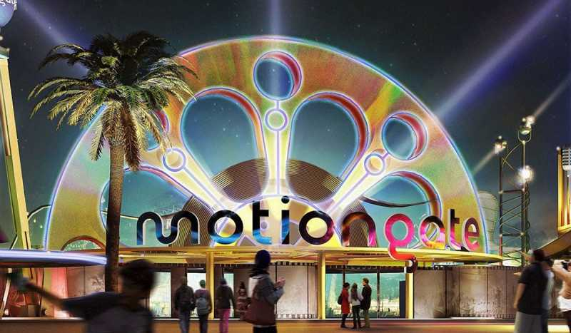 Парк Motiongate Dubai