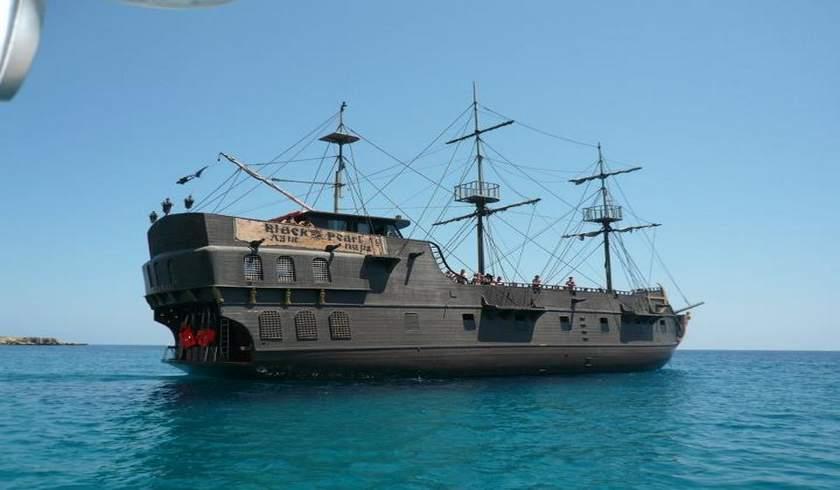 Пиратский Корабль Черная Жемчужина