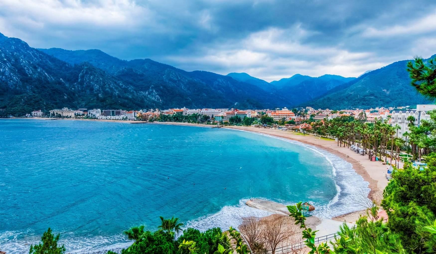 Пляж Ичмелер (Мармарис, Турция) - авторский обзор, часы работы ...