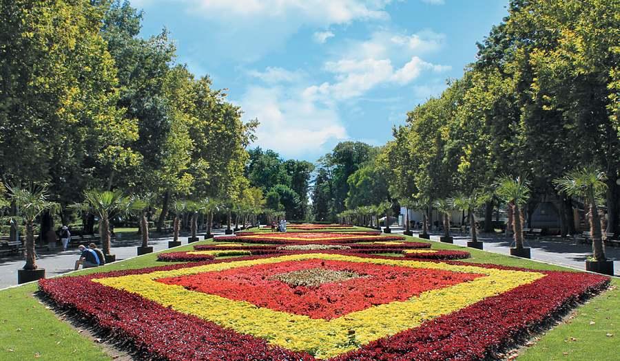 Приморский Парк в Бургасе