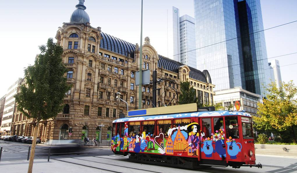 Прогулочный Трамвай Ebbelwei-Express