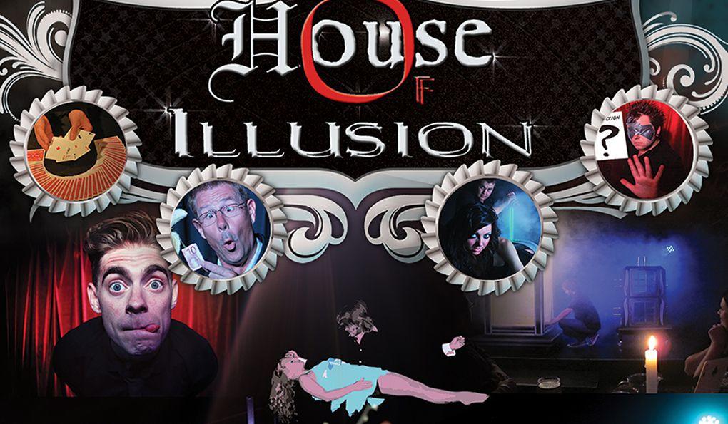 Шоу «Дом иллюзий» в Салоу