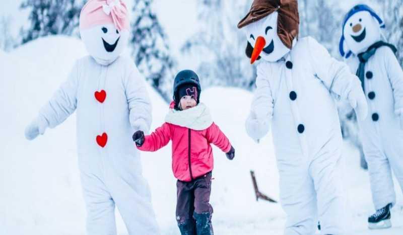 Snowman world rovaniemi