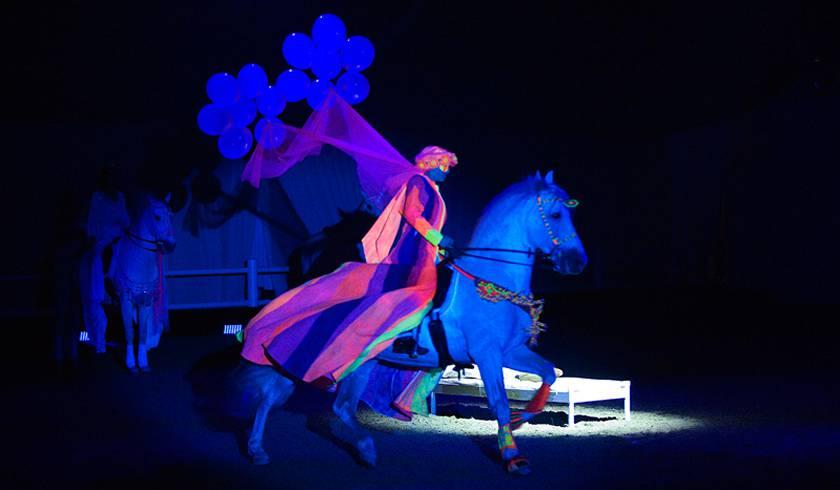 Цирк Лошадей Al Saheel