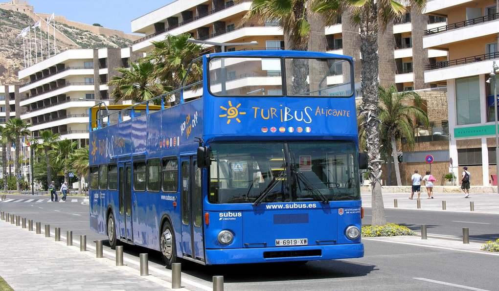 Туристический Автобус Turibus Alikante