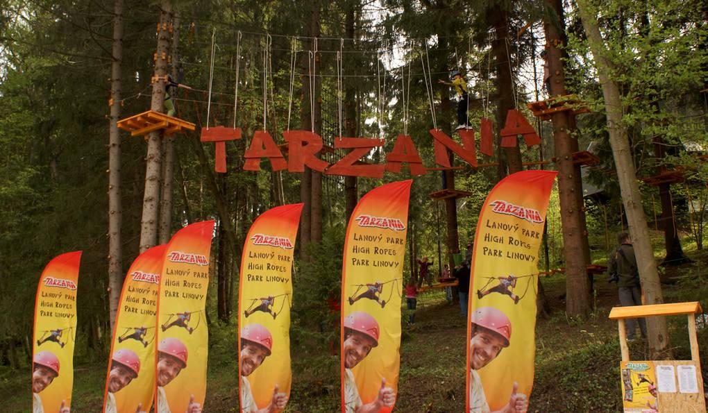 Веревочные Парки Тарзания