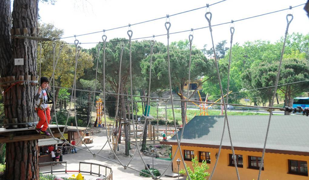 Веревочный Парк Arbre Aventura
