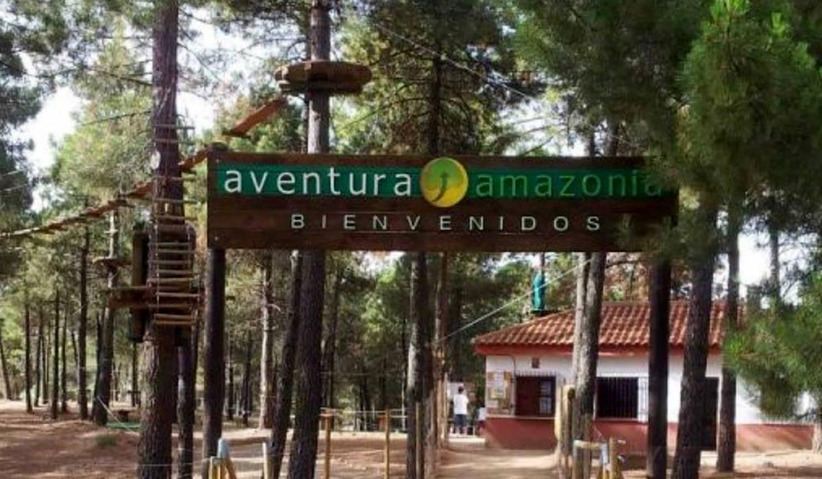 Веревочный Парк Aventura Amazonia
