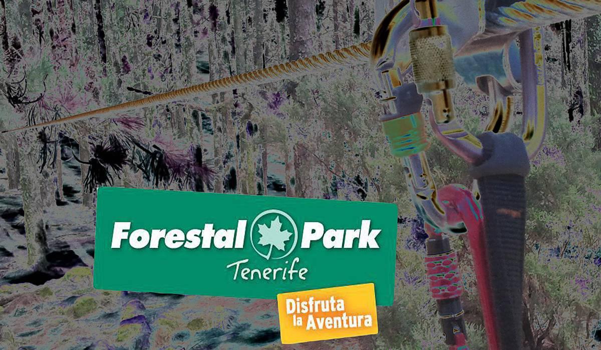 Веревочный Парк Forestal Park Tenerife