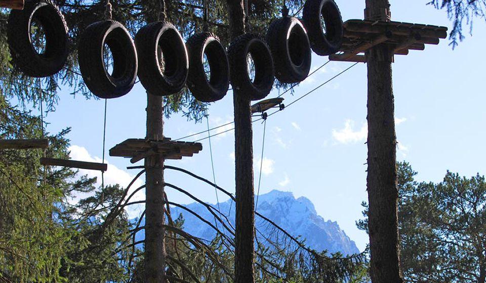 Веревочный Парк Kletterwald Garmisch-Partenkirchen