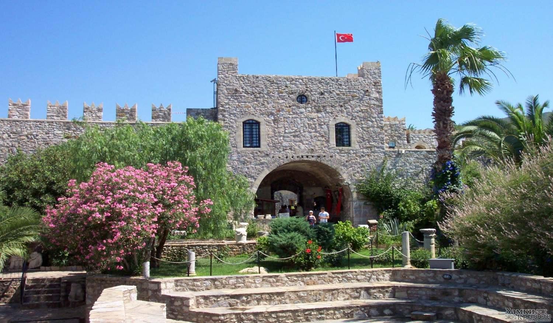 Крепость Мармарис Калеси