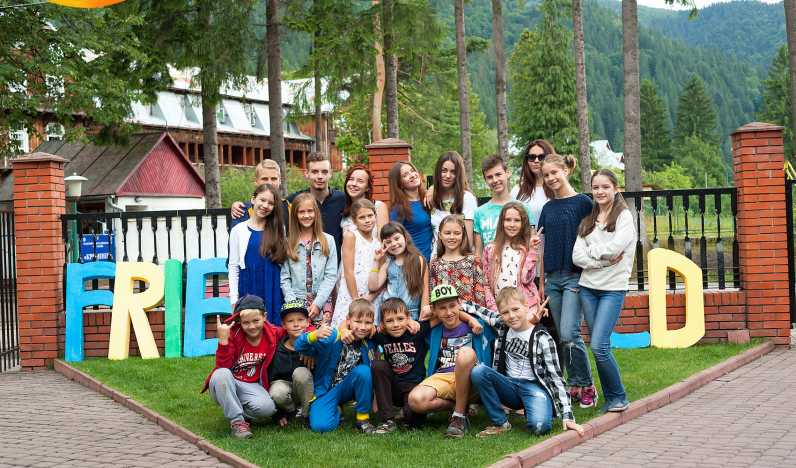 Friends world English camp