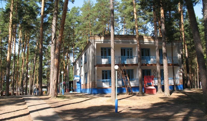 лагеря бор фотография сосновый