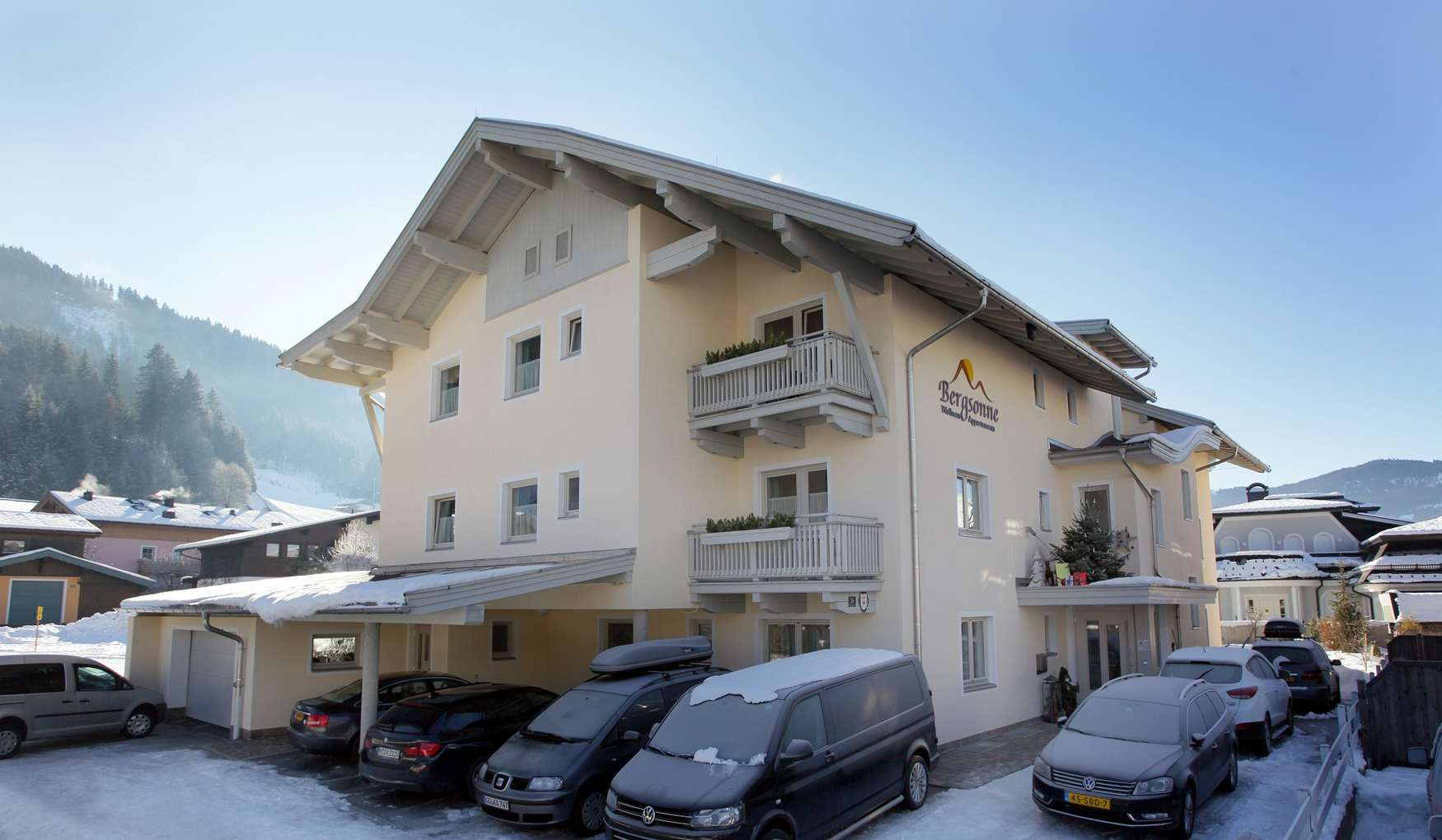 Appartements Bergsonne