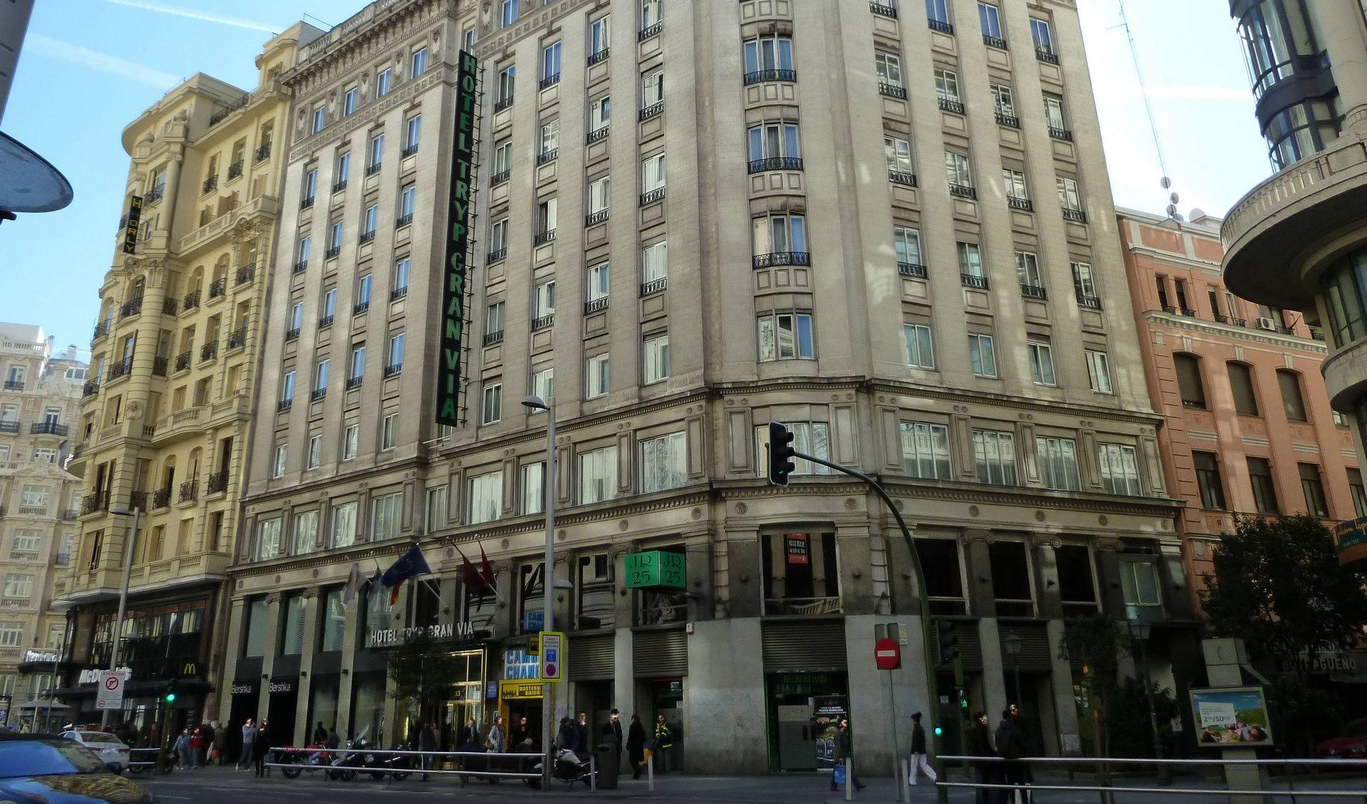 Hotel Madrid Gran Vía 25