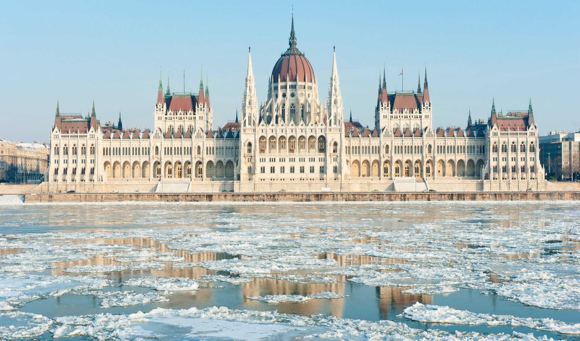 Картинки по запросу будапешт зимой