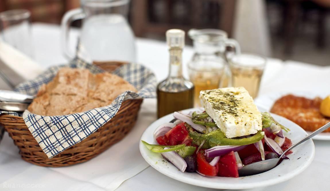 Еда в греции фото