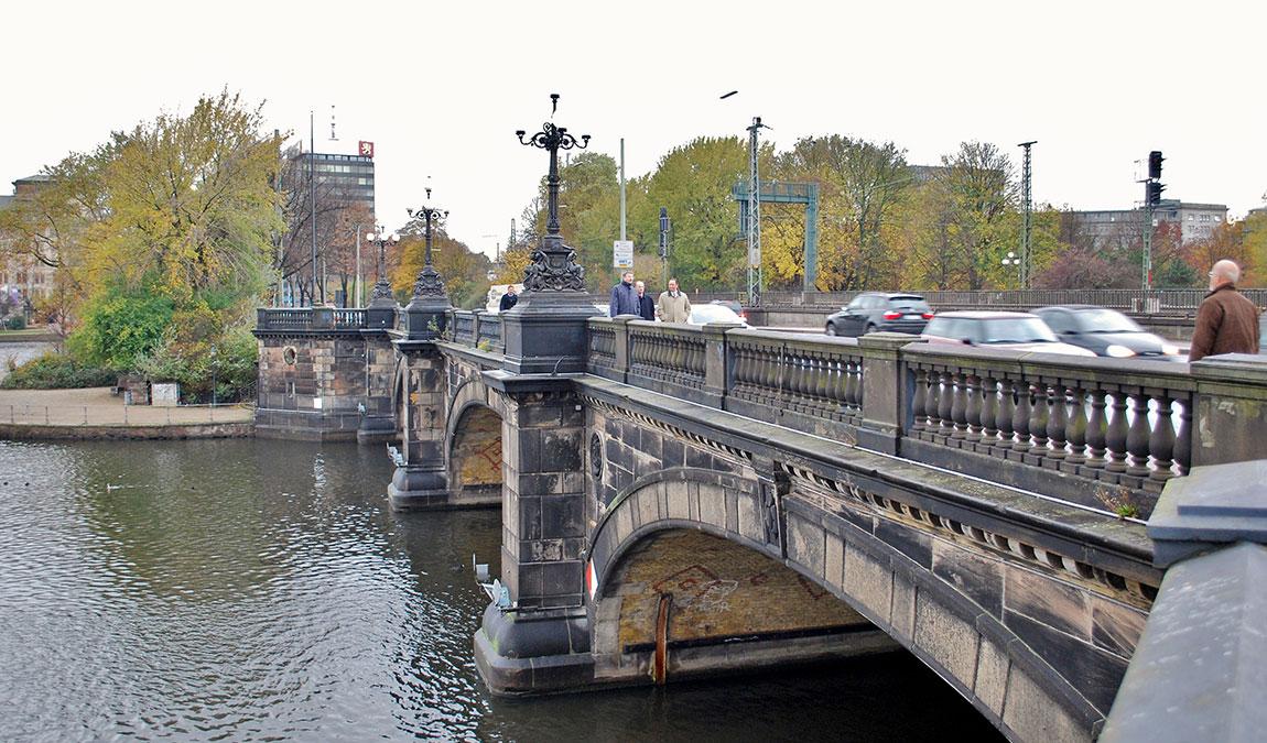 Мост в Гамбурге