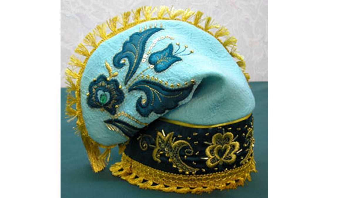 Татарский калфак в подарок из Казани