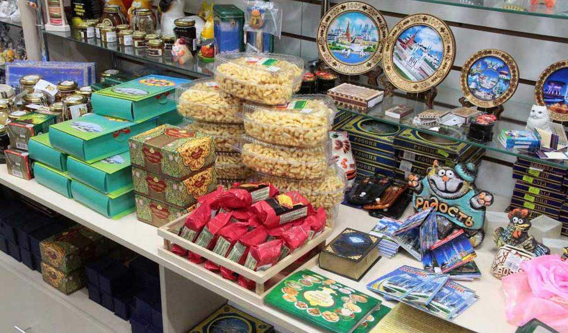 Традиционные подарки из Казани