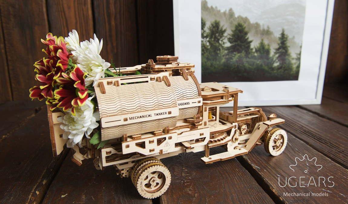 3D-игрушки Ugears как пример подарка из Киева