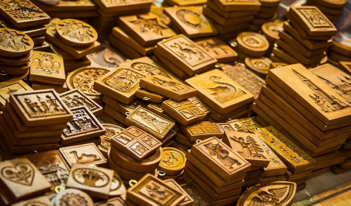 Деревянные сувениры из Обераммергау