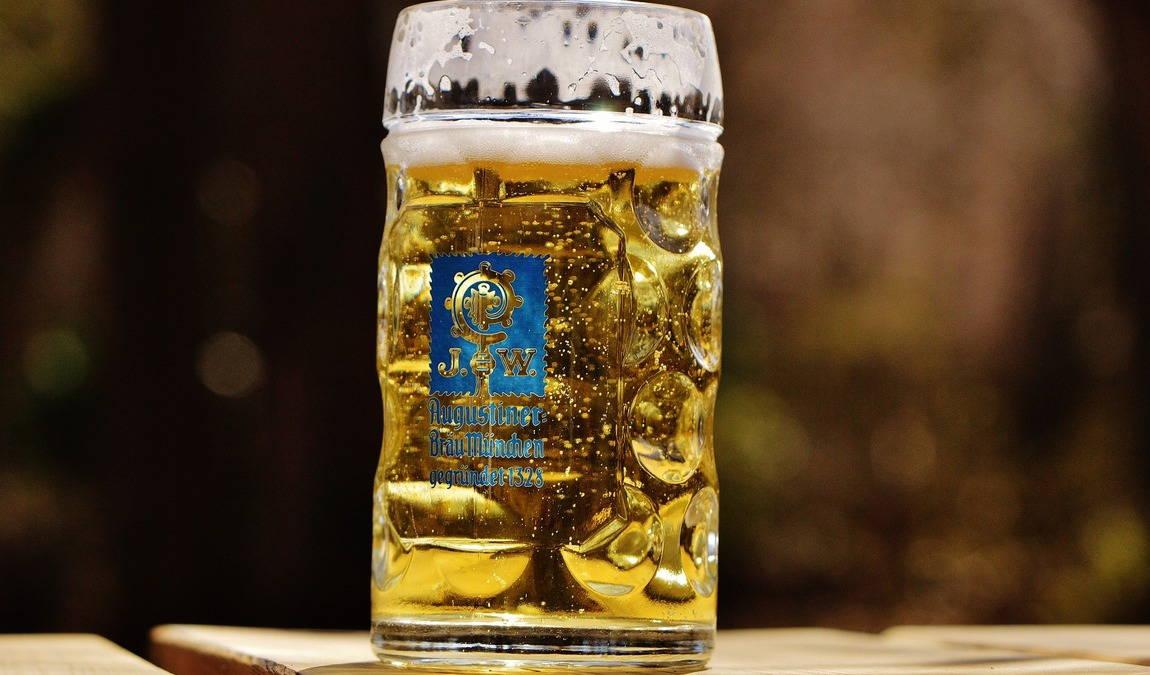 Сувениры из Мюнхена: пивная кружка