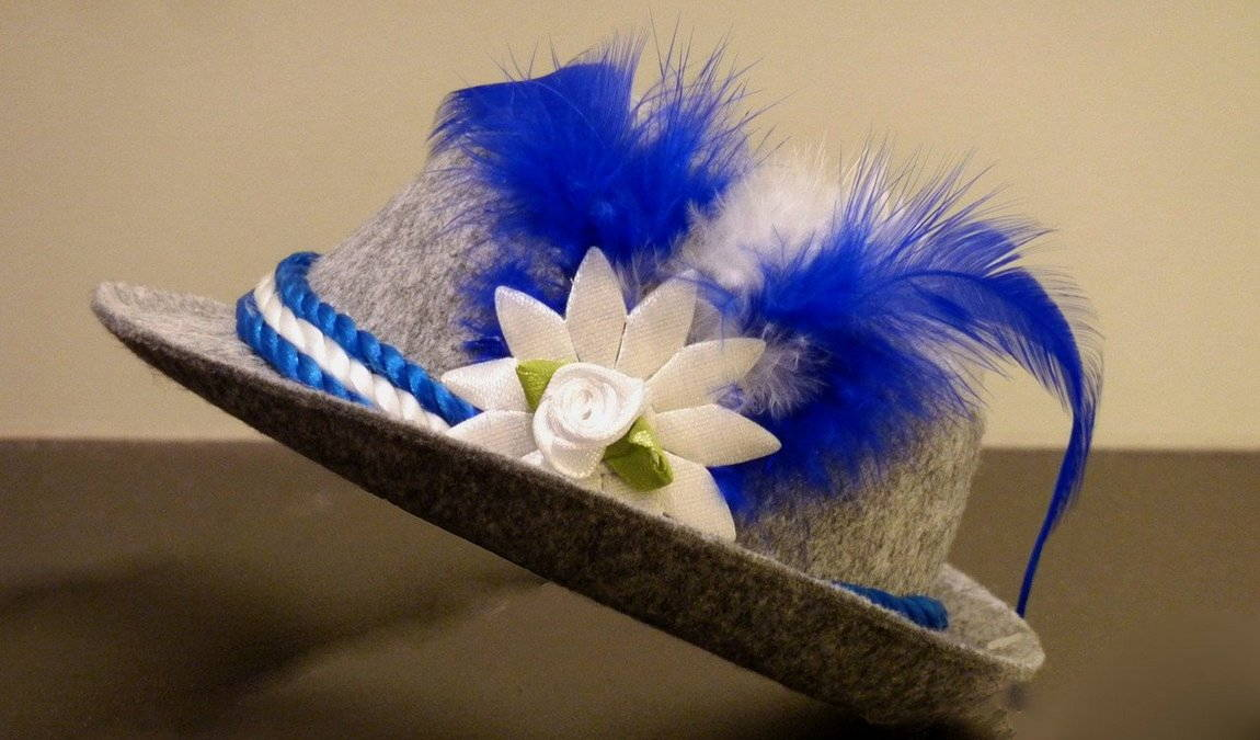 Сувениры из Мюнхена: Войлочная шляпа