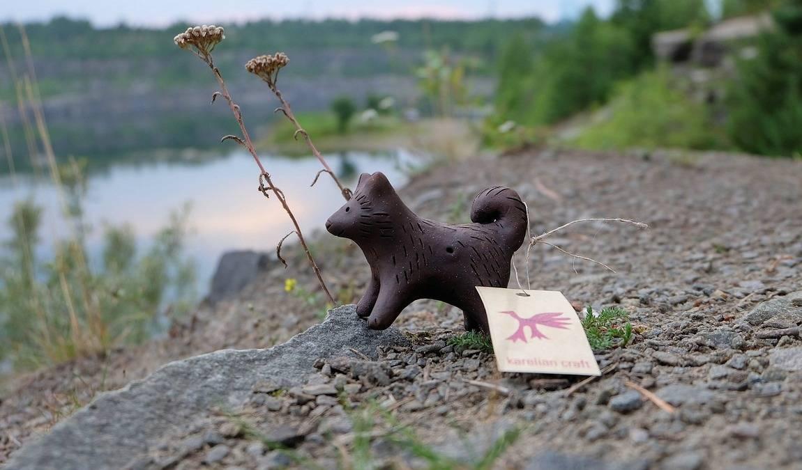Игрушка-свистулька для ребенка из Пскова