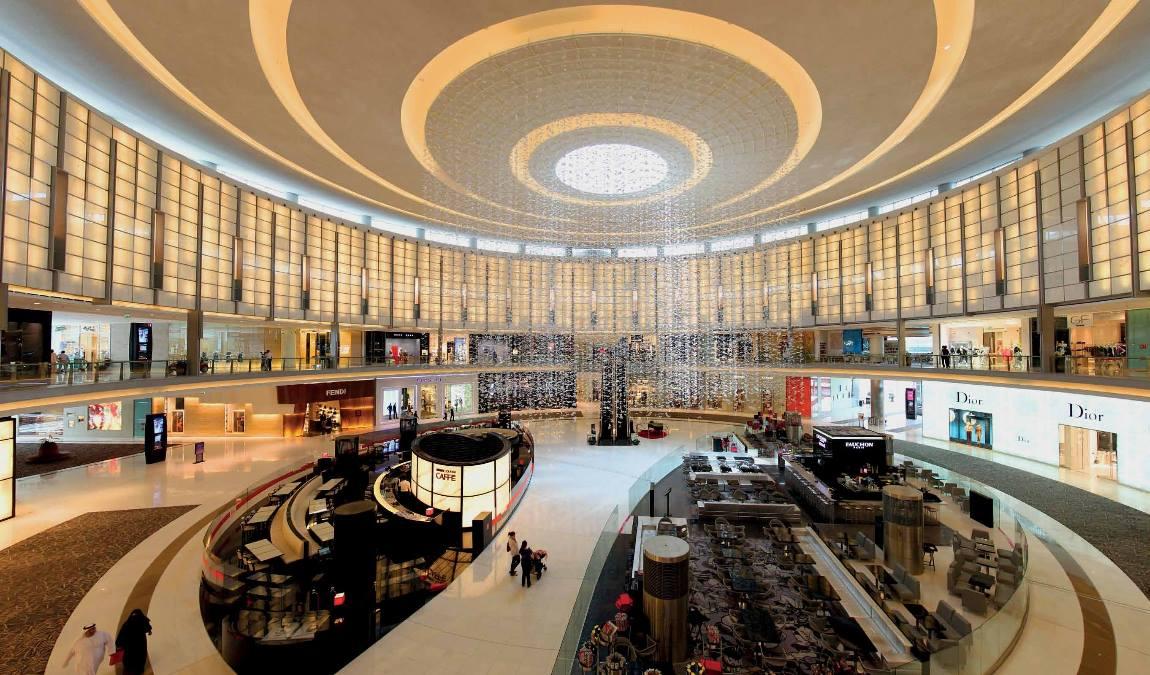 Летний шопинг в Дубае в июне
